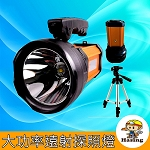 LED手電筒 大功率120W  (內建電池附USB)